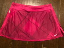 Womens Size Large Nike Tennis Skirt Pink