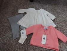 NWT NEW PETIT BATEAU 3M/60 3 MONTHS DRESS LEGGINGS SWEATER SOCKS