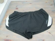 Black sprinter--cut running shorts by Brooks, size XL