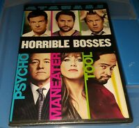 Horrible Bosses (DVD, 2011) NEW AND SEALED