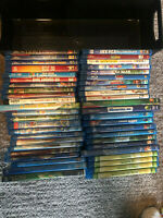 Disney Dreamworks Cartoon Blu Ray and DVD Lot ** 49 Movies