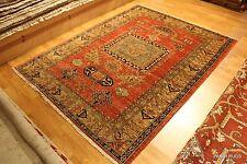 Handmade Fine Quality Caucasian Kazak Design Antique Washed 5' X 7' Prayer Rug