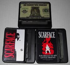 Wholesale Lot Of 12 Mixed Scarface 70mm Metal Cigarette Rolling Machine, NEW