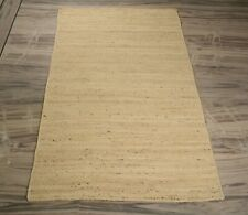 Home Decorative White Jute Rug Bedroom Beautiful Rectangle Carpet