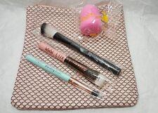 Ipsy Brush & Blender Sponge Lot Mint Pear Luxie Crown Elizabeth Mott 5 pc Set