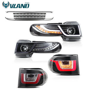 LED Headlights & Tail Lights For Toyota 2007-2015 FJ Cruiser Including Grille