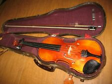 Lot of a Vintage 1966 Karl Hofner Violin in Case ~Bubenreuth