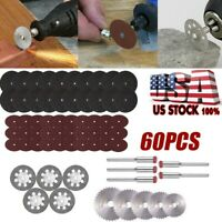 60Pcs/set Diamond Cutting Disc Grinding Wheel Set Rotary Tool Circular