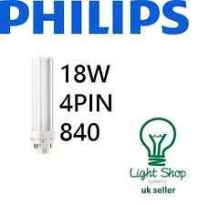 PHILIPS 18 W Biax D/E 4Pin Lampada 840 4000k Cool Bianco G24q-2 F18DBX/840/4P/LL