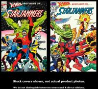 X-Men Spotlight On…Starjammers 1 2 Marvel 1990 Complete Set Run Lot 1-2 VF/NM