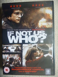 If Not Us, Who? - August Diehl, Lena Lauzemis - New & SEALED DVD