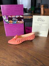 Willitts Just The Right Shoe Tassels Coa Brand New # 25090 retired