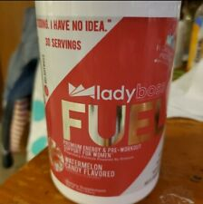 New Lady Boss Fuel Watermelon �Energy Pre-workout Free Shipping!