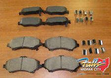 2007-2011 Dodge Nitro Replacement Front and Rear Brake Pad sNew  Mopar OEM