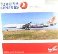 Boeing 777-300ER Turkish Airlines  - Istanbul-San Francisco (Reg. TC-JJU - ...