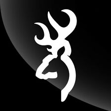 Browning Buck Deer Decal Sticker Hunting - TONS OF OPTIONS