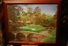 The Bridges of Augusta - Larry Dyke Canvas Framed 424/595