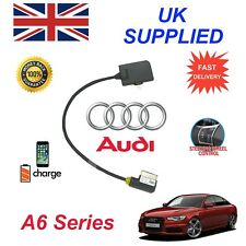 Genuine AUDI A6 iPhone 5 5c 5s 6 6s 7 8 Plus SE 10 some ipods Audio Cable 09+