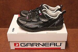 Louis Garneau Women's Multi Lite Cycling Shoe Black/Silver 37 EU/US 6.25 NIB