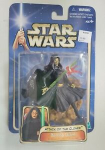 NEW HASBRO STAR WARS ATTACK OF THE CLONES BARRISS OFFEE #12 ACTION FIGURE! C87
