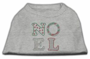 Noel Rhinestone Dog Cat Pet Puppy Christmas Shirt