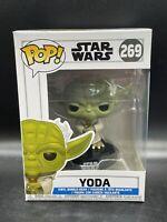 Funko Pop! Star Wars: The Clone Wars Yoda #269 Brand New