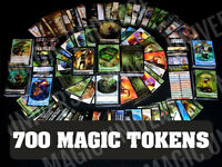 700 MTG Tokens Lot Magic: The Gathering Cards Collection