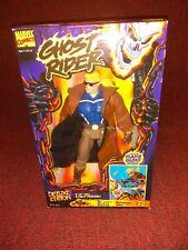 "Toy Biz Ghost Rider Deluxe Edition Marvel Blaze Action Figure 10"" New MIB"