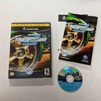 Need for Speed: Underground 2 (Nintendo GameCube GCN, 2004) COMPLETE CIB Tested!
