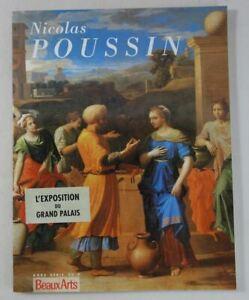 Nicolas POUSSIN exposition au Grand Palais 1994 Hors série BEAUX ARTS magazine