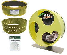 """Silent Runner Wheel 12"""" Wide + Autoclean Track + Sandy Track + Cage Attachment"""