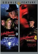 Nightmare on Elm Street 3 & 4 (DVD, Dual Layer, 2014)