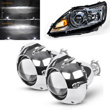 2x Bi-xenon projector lens & Shrouds High/ Low beam For Left-hand-drive Car