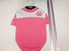 Puppia Pink Active Wear Style Tee Shirt with Smart Tag QR code ID