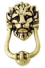 Solid Brass Lion's Head Door Knocker – Number 10 Downing Street Lion Knockers