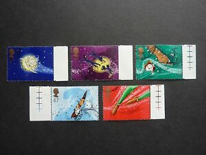 2002 Peter Pan set of five (5) Royal Mail stamps fine used S.G. 2304-2308