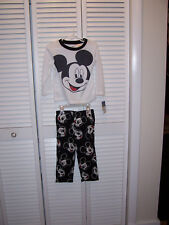 DISNEY MICKEY MOUSE Toddler Boys PJ's Pajama Set SIZE 3T NWT