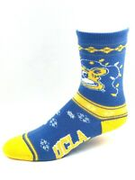 UCLA Bruins For Bare Feet Holiday Crew Socks with Mascot