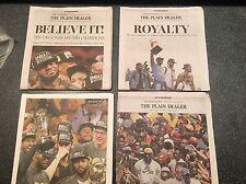 CLEVELAND CAVALIERS CAVS 4 Plain Dealer Newspapers CHAMPS 2016