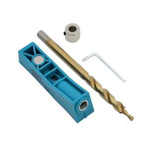 Katsu 105412 Pocket Hole Jig Mini Kit System W Step Drill Bit & Depth Collar