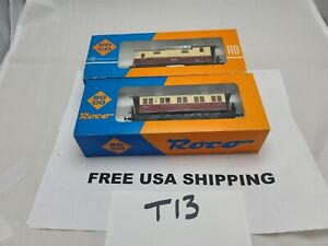 2 Roco small passenger  cars as picture # T13