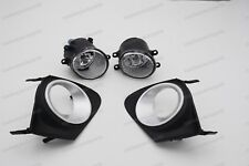 Front Bumper Fog Lights Lamps W/Bezel Cover Kits for Toyota Corolla 2010