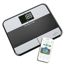 WiTscale S1 Bluetooth Smart Body Fat Scale for iPhone6 (HealthKit)&Galaxy Note