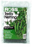(1) Ross 18-Foot X 6-Foot Trellis Garden Vegetable Netting Black - 16387
