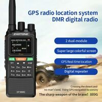 DMR Walkie Talkie UHF/VHF 5W Two Way Radio DMR Double time slot 999CH 3000mAh