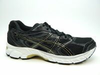 ASICS GEL EQUATION 8 T5Q1N BLACK GOLD CASTLEROCK MEN SHOES SIZE 8
