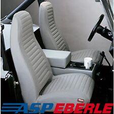 Sitzbezüge Sitzbezug Sitzschoner Set Charcoal Jeep CJ + Wrangler YJ 76 - 91