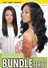 3Bundles 100% Virgin Human Hair Extension Unprocessed Body Wave Brazilian Weave