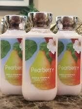 3 Bath & Body Works Pearberry Lotion Hand  Body Shea and Vitamin E Cream 8 oz