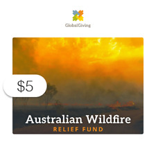 $5 Charitable Donation For: Australian Wildfire Relief Fund